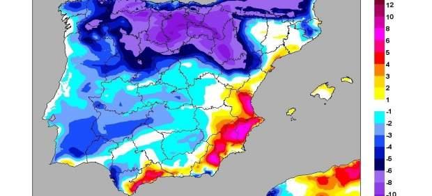 El ponent farà pujar este dijous les temperatures fins als 36ºC però demà baixaran fins a 14ºC a la Comunitat Valenciana