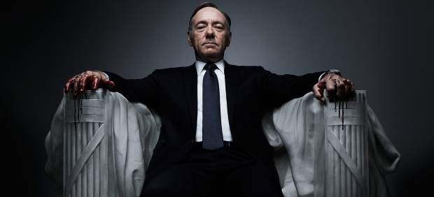 Kevin Spacey en 'House of Cards', de Netflix.