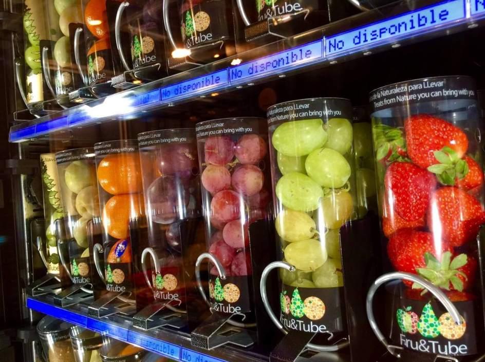 M s fruta fresca y menos refrescos en las m quinas de 39 vending 39 de los institutos - Maquinas expendedoras de alimentos y bebidas ...