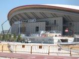 El Wanda Metropolitano, antes de su estreno