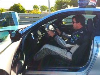 La postura correcta en la conducción