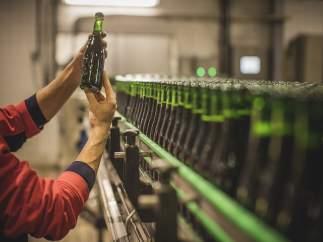 Cervezas Alhambra, centro de producción de Granada