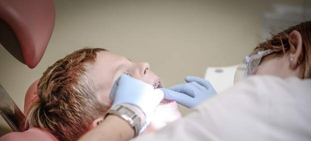 Dentista, niño