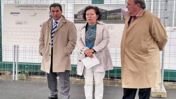 Representantes Ayuntamiento Bergara y Sprilur
