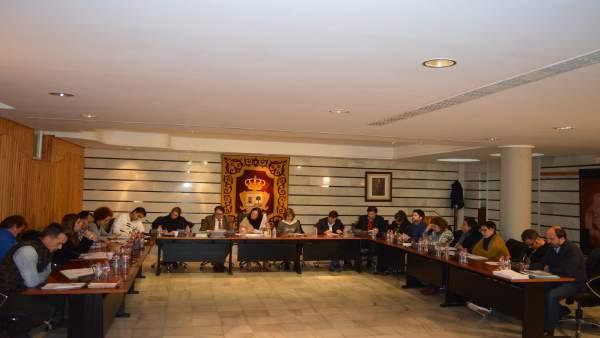 Pleno del Ayuntamiento de Punta Umbría del 1 de diciembre.