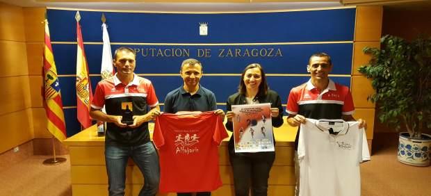 La carrera se disputará el domingo en Alfajarín y se ha presentado hoy en la DPZ