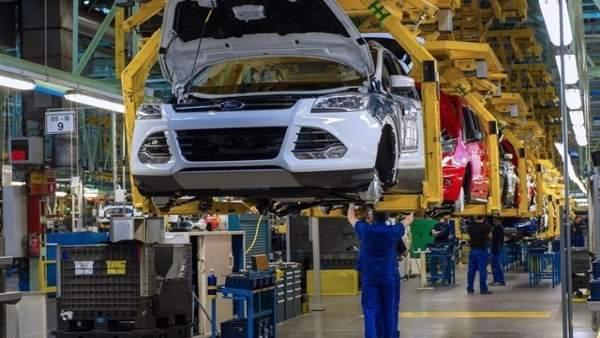 Imagen de archivo de la planta valenciana de Ford