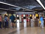 Puertas abiertas en el metro y el bus de València por el Día sin Coche