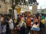 Protesta de las AMPA de las Escuelas de Calor.