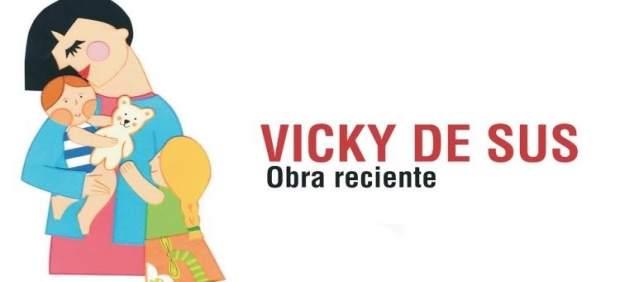 Cartel de la exposición de la artista Vicky de Sus