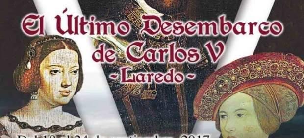 Cartel del Último Desembarco de Carlos V