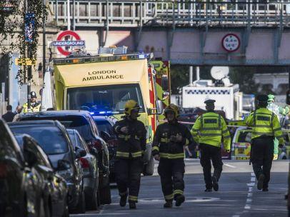Explosión en el metro de Londres