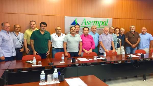 La Mesa del Agua de Almería, al término de su reunión