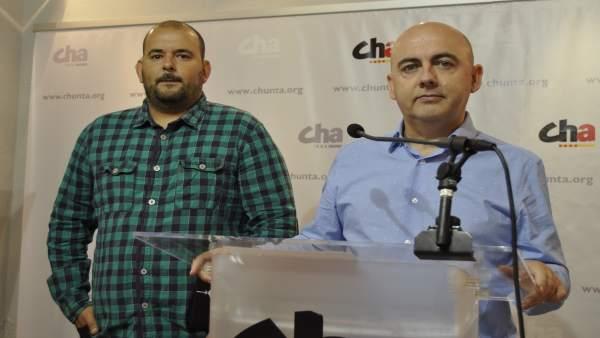Miguel Jaime y Alberto Alcaine (CHA).