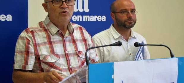 Pancho Casal y Luís Villares (En Marea)