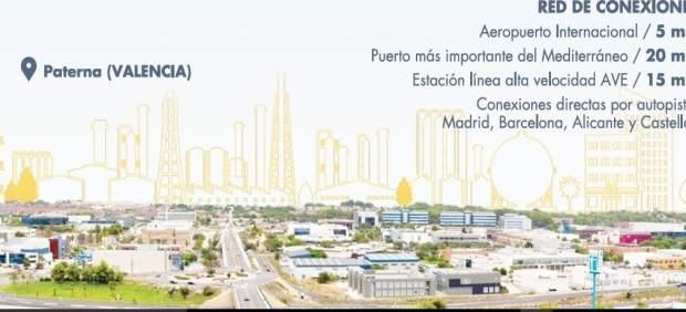 Imagen de la campaña de Paterna para atraer a empresas