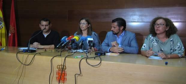 Rueda de prensa Oposición Ayuntamiento Murcia
