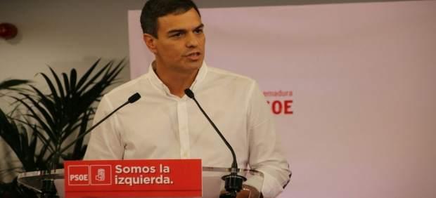 """1 Sánchez afirma que la seua pàtria és la """"gent"""", oblidada pels qui s'emboliquen en la bandera per tapar corrupció"""
