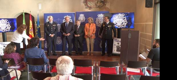 Presentación actos Día de la Policía en Badajoz