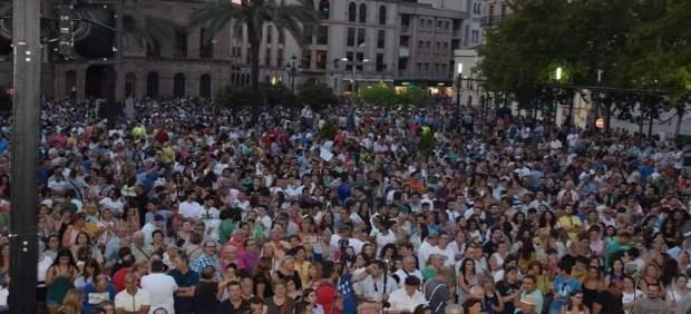 Manifestación de Linares