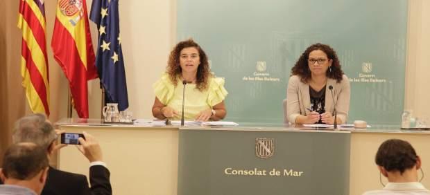 Costa y Cladera tras el Consell de Govern