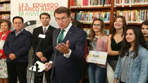 Núñez Feijóo Apuesta Por Un Sistema Educativo Que Anticipe Las