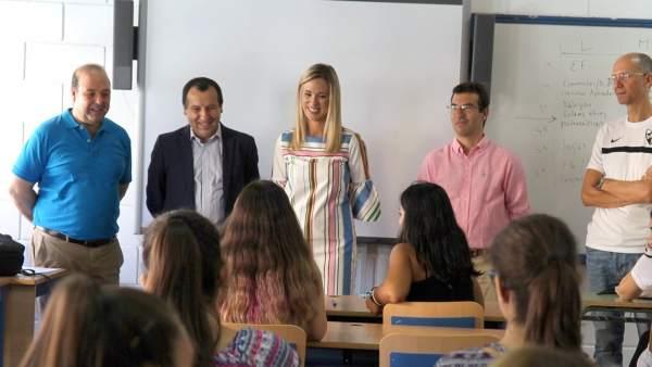 Inicio del curso en Secundaria y FP en Málaga