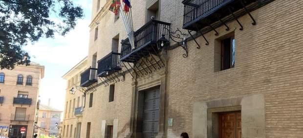 Fachada del Ayuntamiento de Huesca