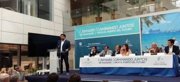 Antoni Noguera en la I Jornada de Innovación