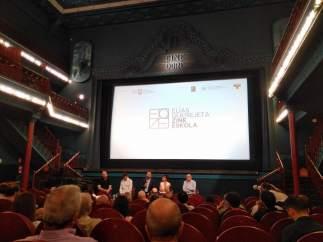 Cine, presentación Escuela de Cine Elías Querejeta