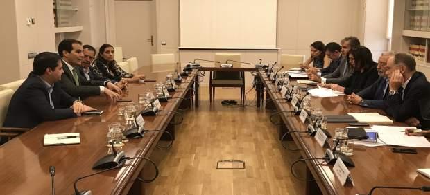 Reunión entre el PP y el Ministerio de Fomento por el Metrotrén