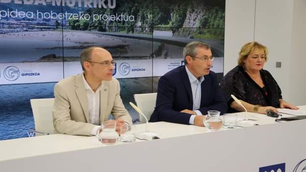 Joxe Angel Lizardi, Markel Olano, Aintzane Oiarbide