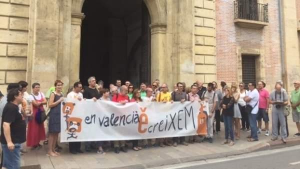 """Entitats anuncien mobilitzacions al novembre per a expressar """"el suport social"""" al valencià"""