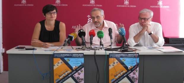 Emilio Aumente, Amparo Pernichi y Antonio Valdenebro