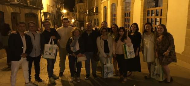 Fam trip de touroperadores japoneses en Jaén