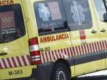 Una ambulancia del SUMMA 112