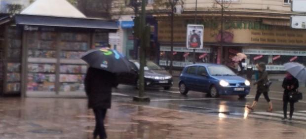Lluvia, temporal, viento en Cantabria