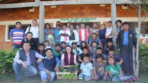 Las comunidades indígenas de Paraguay reciben formación agroalimentaria