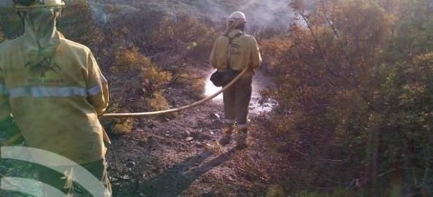 Fuego incendio casares intervención infoca
