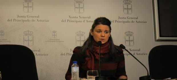 La diputada de Ciudadanos Asturias, Diana Sánchez