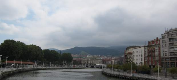 Cielos nubosos en Bilbao