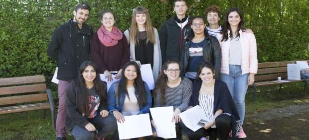 Participantes del proyecto Ruiseñor del curso pasado