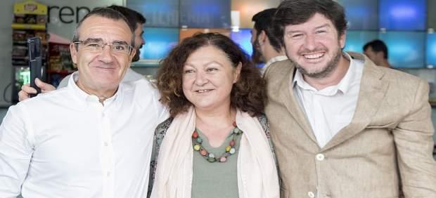 Juan Pedro Yllanes, Mae de la Concha y Alberto Jarabo en el Palma Arena