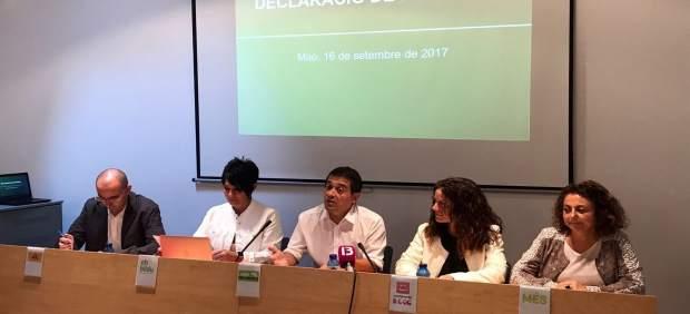 Firma de la Declaración de Menorca