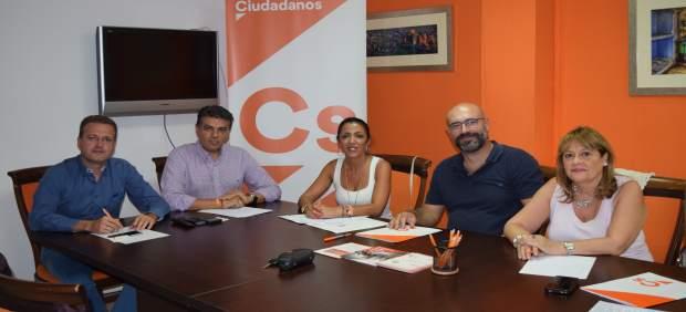 Reunión de Cs Almería con Asoal