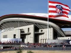 El Atlético terminará dos nuevos accesos al Wanda desde la M-40 antes de Navidad
