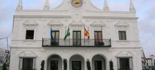 Fachada del Ayuntamiento de Cartaya.
