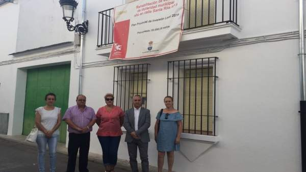 Obra de rehabilitación en Valsequillo (Córdoba)
