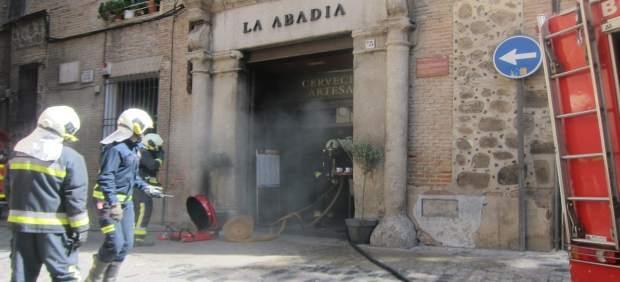 Incendio En La Abadía