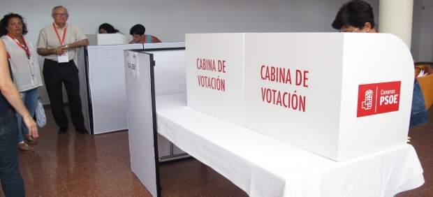 13.º Congreso Psoe Canarias / Fotos Votación